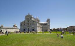 Piazza dei Miracoli, Pisa Zdjęcie Royalty Free
