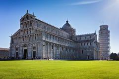 Piazza dei Miracoli in Pisa Royalty-vrije Stock Fotografie