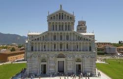 Piazza dei Miracoli in Pisa, Italië Royalty-vrije Stock Afbeelding