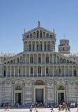 Piazza dei Miracoli in Pisa, Italië Royalty-vrije Stock Fotografie