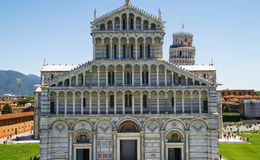 Piazza dei Miracoli in Pisa, Italië Stock Afbeelding