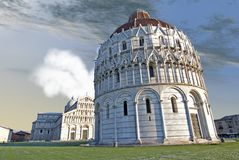 Piazza dei Miracoli, Pisa, Italy Royalty Free Stock Images