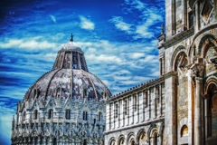 Piazza dei Miracoli in Pisa Royalty Free Stock Images