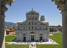 Piazza dei Miracoli in Pisa ,Italy Royalty Free Stock Images