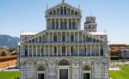 Piazza dei Miracoli in Pisa ,Italy Stock Image