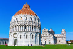 Piazza dei Miracoli in Pisa, Italy Stock Photos