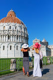 Piazza dei Miracoli in Pisa, Italy Royalty Free Stock Photography