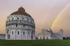 Piazza dei Miracoli in Pisa Stock Photos