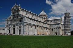 The Piazza dei Miracoli, Pisa, Tuscany, Italy Stock Image