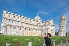 Piazza dei Miracoli in Pisa, Tuscany Stock Photography