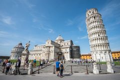 Piazza dei Miracoli in Pisa, Tuscany Royalty Free Stock Photography