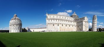 Piazza dei Miracoli, sky, landmark, daytime, stately home. Piazza dei Miracoli is sky, stately home and cloud. That marvel has landmark, grass and architecture royalty free stock photo