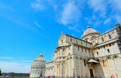 Piazza dei Miracoli square in Pisa Royalty Free Stock Photography
