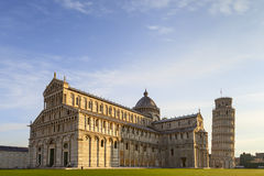 Piazza dei miracoli view Stock Photo