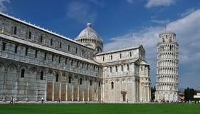 Piazza dei Miracoli, Włochy Zdjęcia Royalty Free