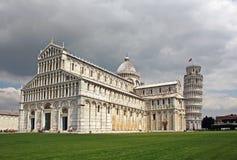 Piazza dei Miracoli w Pisa Obrazy Stock