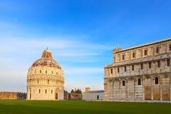 Piazza dei miracoli widok Zdjęcie Stock
