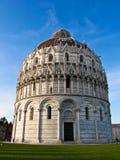 Piazza dei miracoli z bazyliką, Zdjęcie Royalty Free