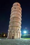 Piazza dei Miracoli z Oparty wierza Pisa Fotografia Royalty Free