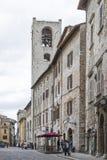 Piazza, dei Priori in Narni Royalty Free Stock Image