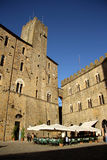 Piazza dei Priori in Volterra (Tuscany, Italy) Royalty Free Stock Images
