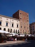 Piazza dei Signiori, Verona, Italy Stock Photo