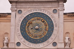 Piazza dei Signori, Padua, Italië Stock Foto