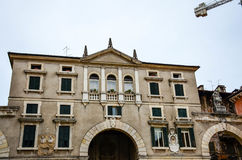 Piazza dei Signori, Royalty Free Stock Photography
