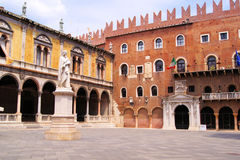 Piazza dei Signori, Verona Royalty Free Stock Photography