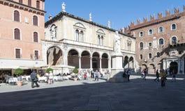 Piazza dei signori verona veneto italy europe Royalty Free Stock Image