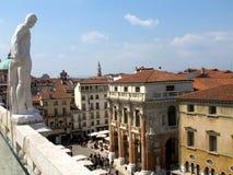 Piazza dei Signori in Vicenza Stock Photography