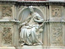Piazza del园地,锡耶纳。 免版税库存照片