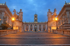Piazza del Campidoglio Fotografia Stock