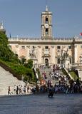 Piazza del Campidoglio Stock Photo