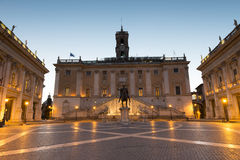 Piazza del Campidoglio Royalty Free Stock Photos