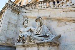 Piazza del Campidoglio Stock Image