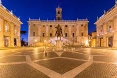 Piazza del Campidoglio, Rome Italie photo stock