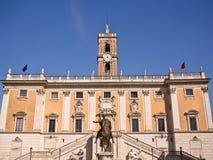 Piazza del Campidoglio  Rome Italy Stock Photography