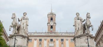 Piazza del Campidoglio Stock Photography