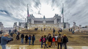 Piazza del Campidoglio stock video footage
