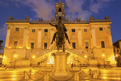 Piazza del Campidoglio in Rome, Italy Royalty Free Stock Photography