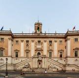Piazza del Campidoglio in Rome Stock Image
