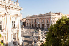 Piazza del Campidoglio Stock Photos