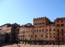 Piazza del Campo images libres de droits