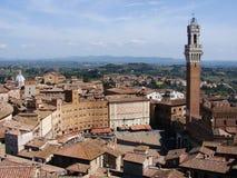Piazza del Campo Imágenes de archivo libres de regalías