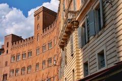 Piazza del Campo Image libre de droits