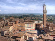 Piazza del Campo HDR Stock Photos