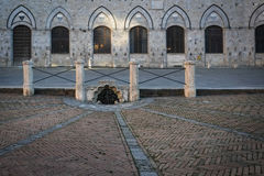 Piazza Del Campo in Oker Royalty-vrije Stock Afbeelding