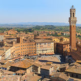 Piazza del Campo, Siena, Italy Royalty Free Stock Photo