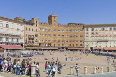 Piazza del Campo Royalty Free Stock Image